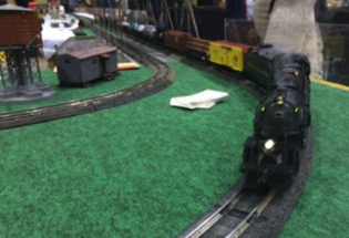 Washington & Old Dominion S Gauge Club at the York Train Show
