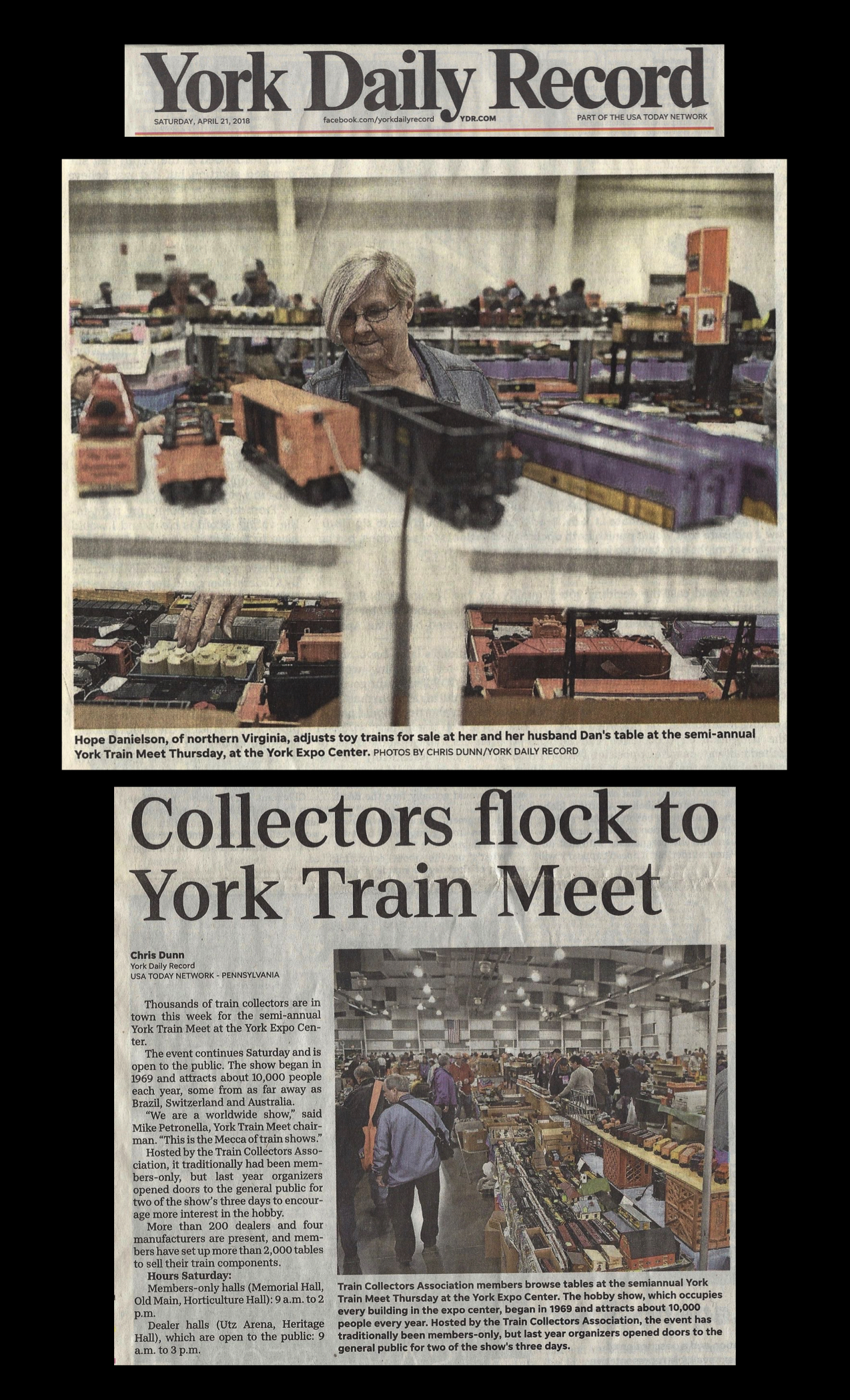 York Train Show October 2018